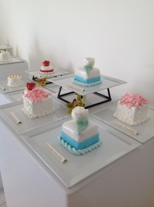 Sampling of Palace Resorts Wedding Cakes