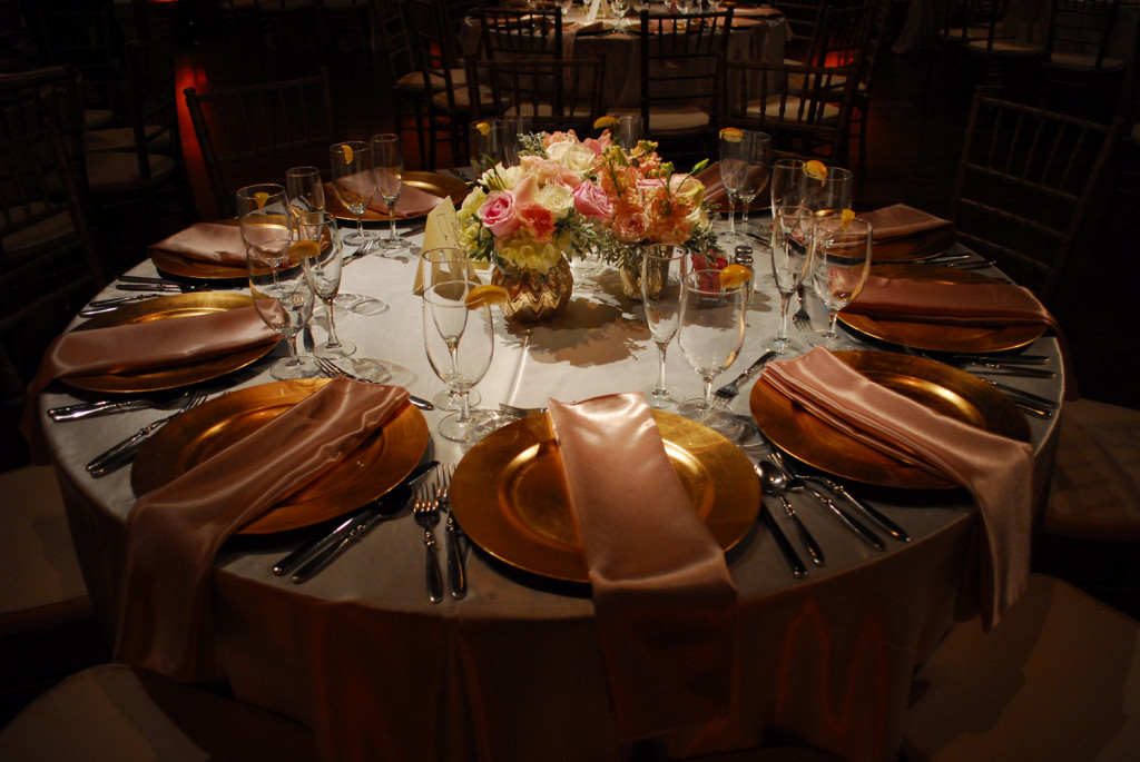 wedding reception table mcnay
