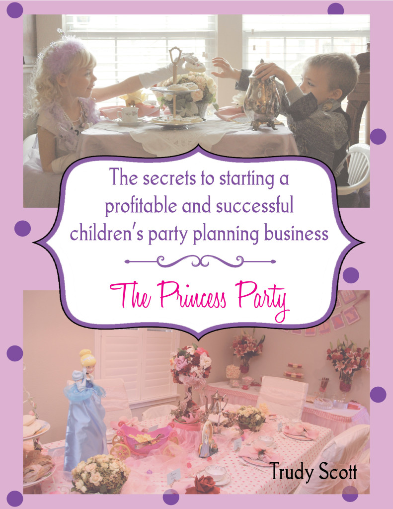 how to start your own childrens party planning business
