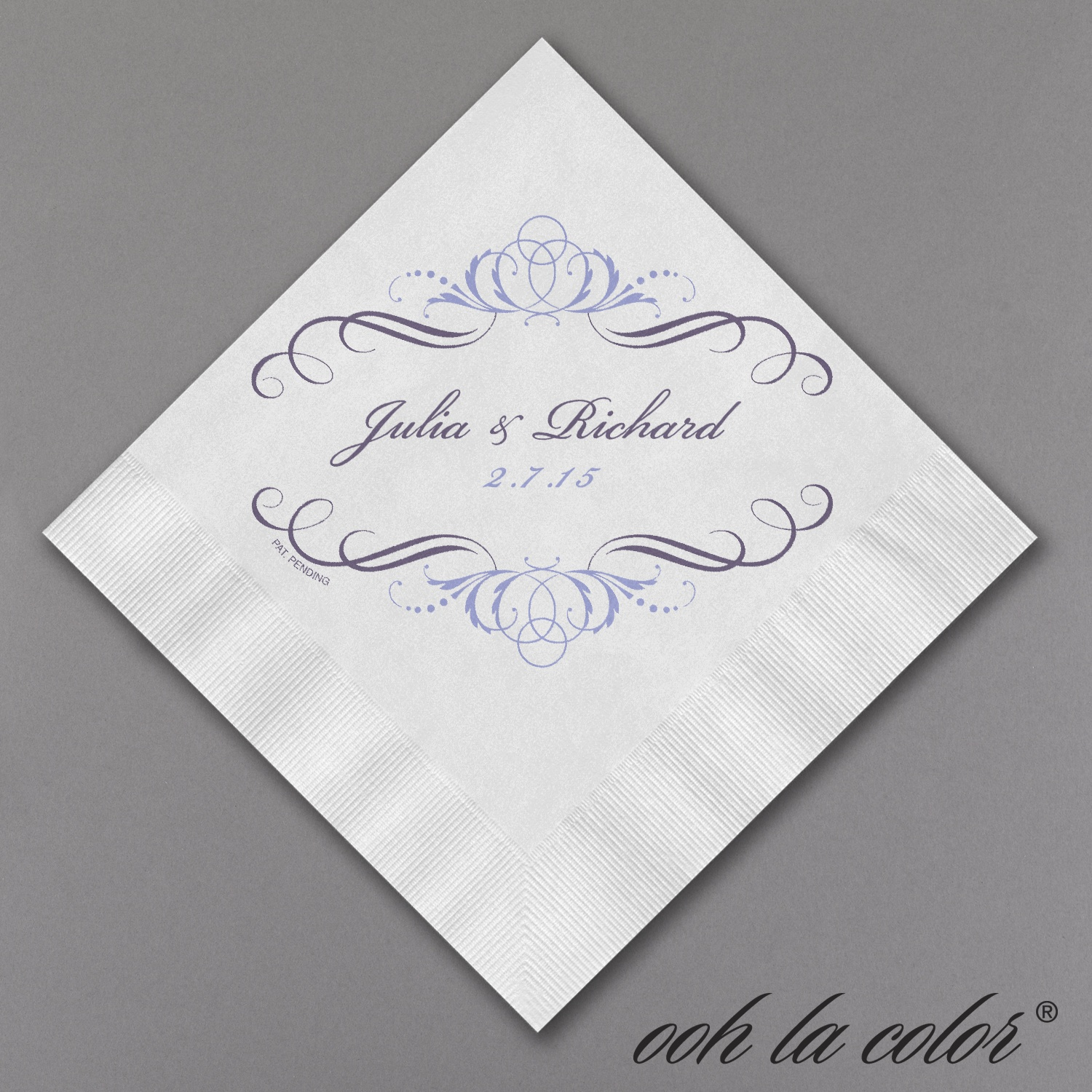 Printed Personalized Items For Weddings - San Antonio Invitation ...